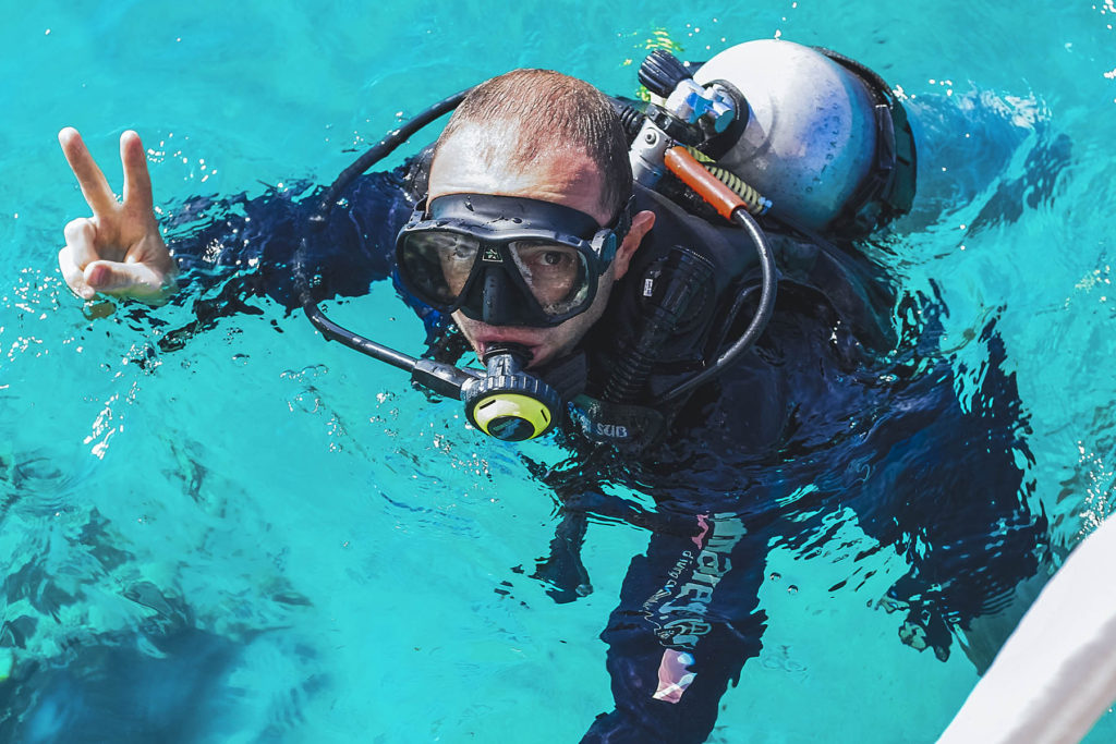 Scuba Diving course padi tulum